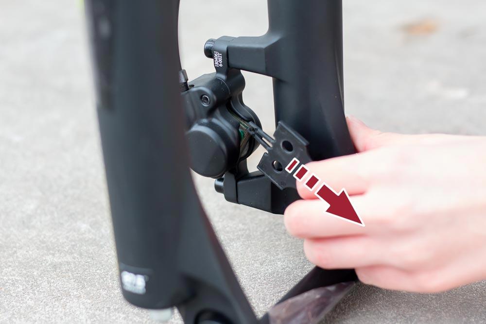 16 aufbau schutz bremse entfernen - Schritt für Schritt erklärt: Aufbauanleitung für dein Fahrrad oder E-Bike