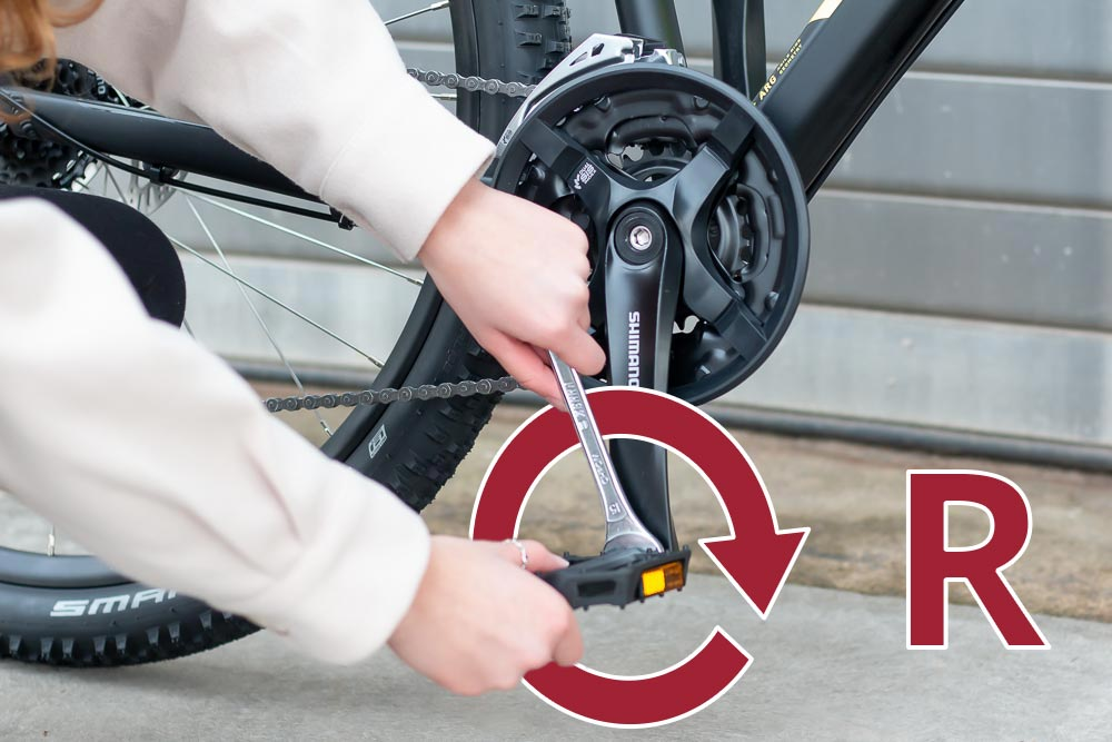 22 aufbau pedal rechts anschrauben - Schritt für Schritt erklärt: Aufbauanleitung für dein Fahrrad oder E-Bike