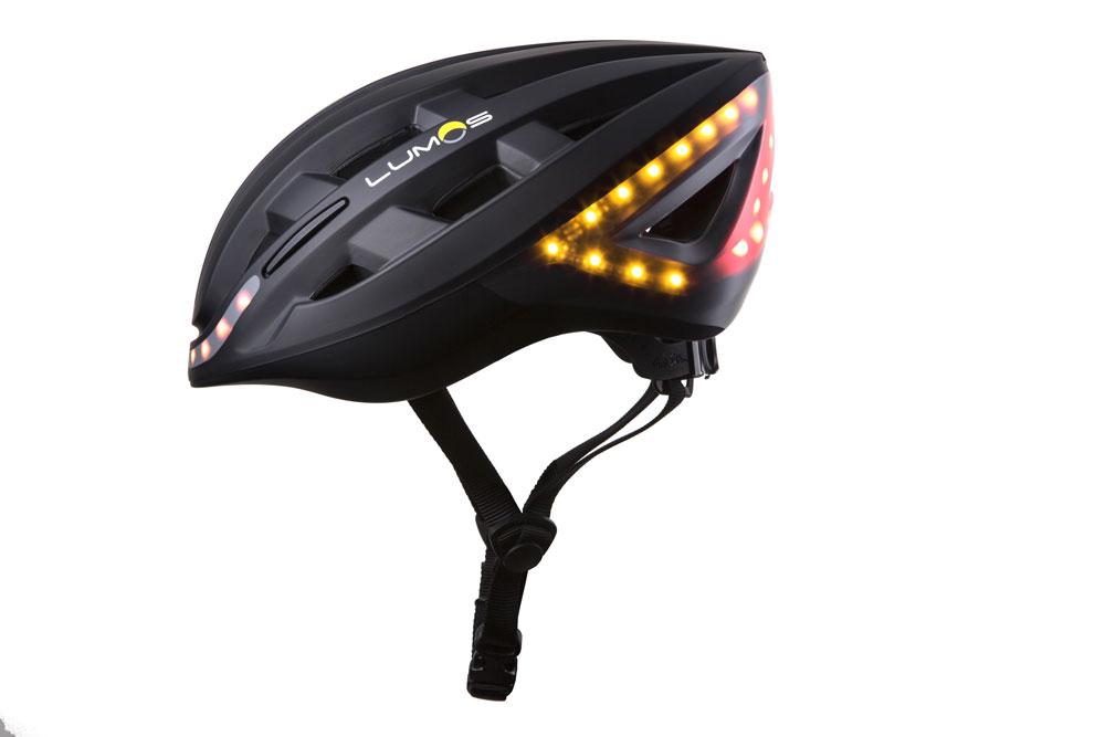 Lumosblack1 - Lumos Kickstart Fahrradhelm - Er blinkt und hat Bluetooth