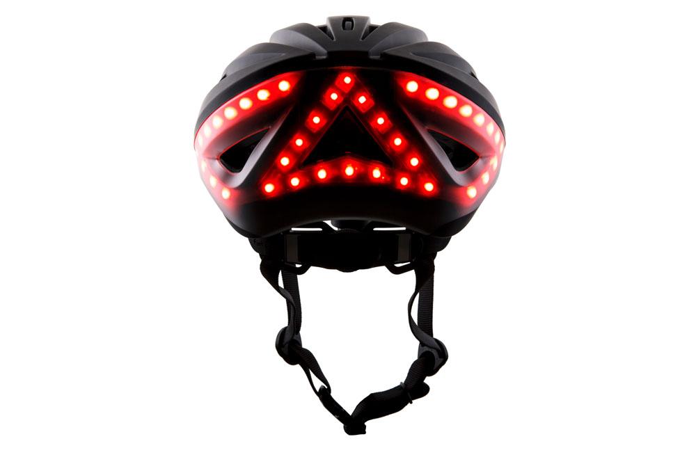 Lumosblack2 - Lumos Kickstart Fahrradhelm - Er blinkt und hat Bluetooth
