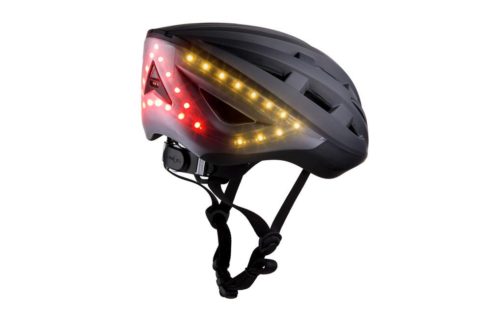Lumosblack4 - Lumos Kickstart Fahrradhelm - Er blinkt und hat Bluetooth