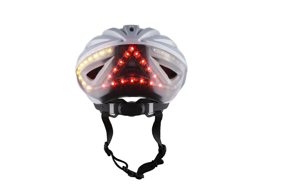 Lumoswhite2 - Lumos Kickstart Fahrradhelm - Er blinkt und hat Bluetooth