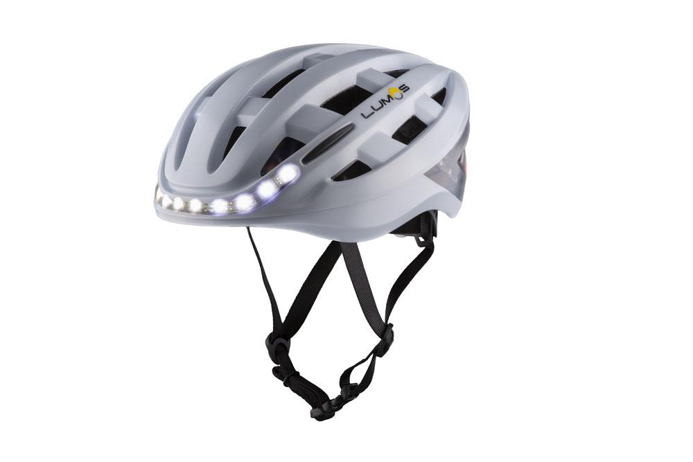 Lumoswhite4 - Lumos Kickstart Fahrradhelm - Er blinkt und hat Bluetooth