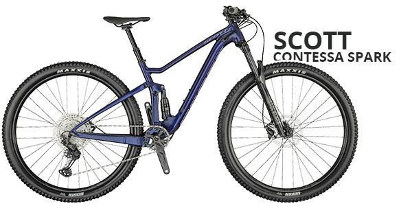 Scott contessa spark damen beratung - Mountainbikes für Damen