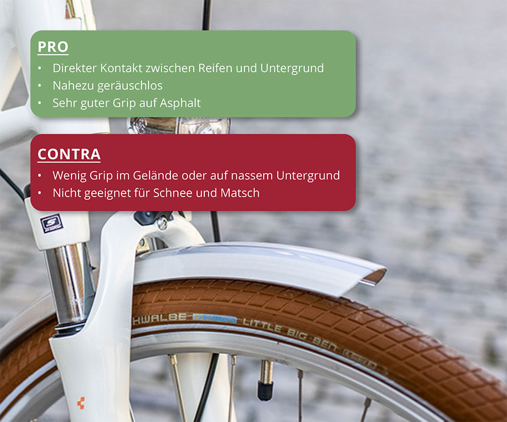 Trekkingbikeberatung ohne Reifenprofil - Welcher Reifentyp für mein Trekkingbike?