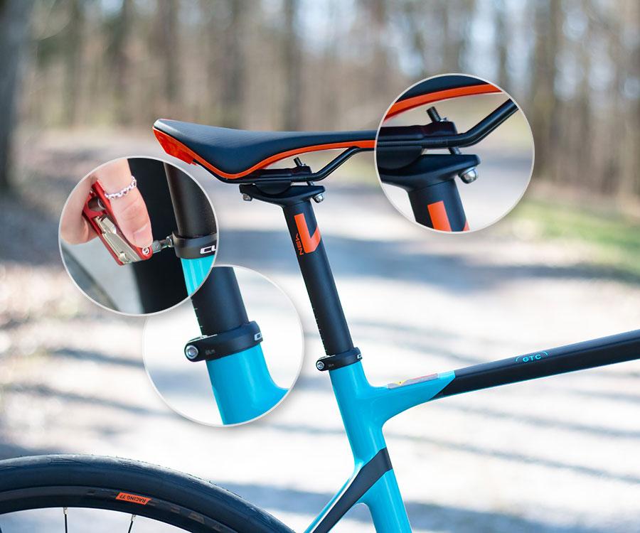 sattel - Wie stelle ich den Fahrradsattel richtig ein?