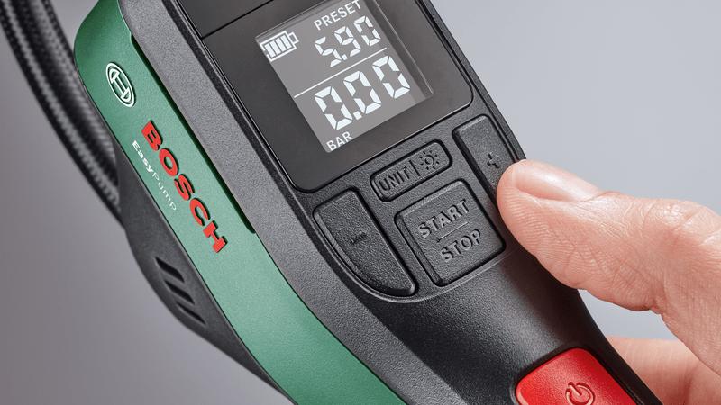 Easypump durckluftpumpe - Bosch EasyPump - Die Druckluftpumpe für Zuhause oder Unterwegs