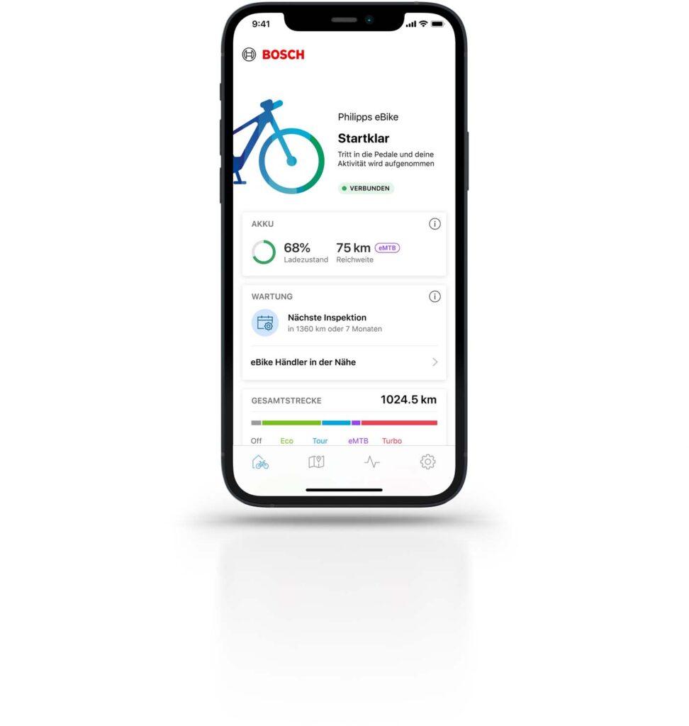 eBike Flow App (Foto: Bosch)